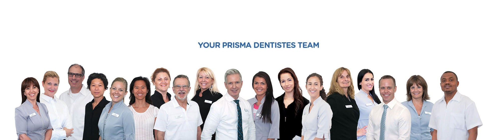 Your Prisma Dentists Team in Montreal